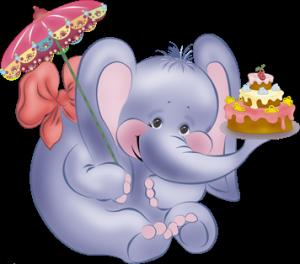 слон для дня рождения